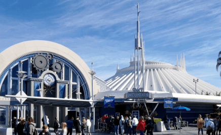 Disneys Space Mountain