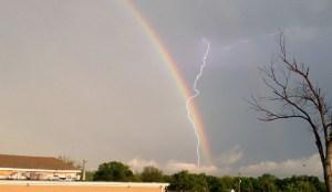 rainbow lightning