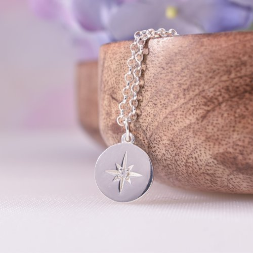 Sterling Silver Guiding Star Necklace