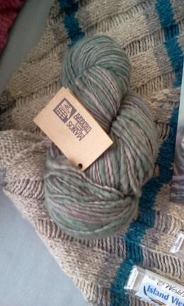 New Wool Stash Manos Hand Spun