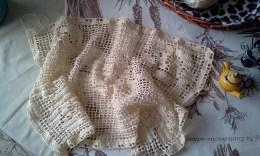 Vintage Filet Crochet