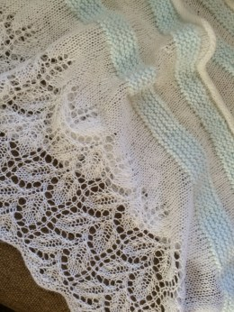 Lacy Leaf Pattern Shawl