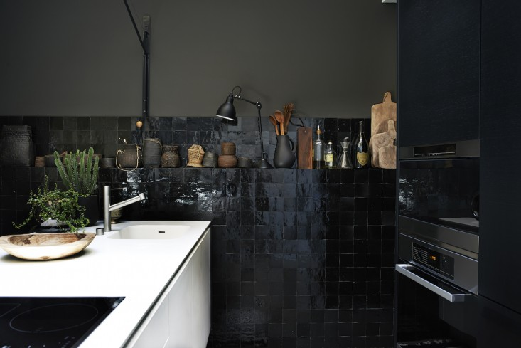 Monochrome-Home-Hilary-Robertson-black-tiled-kitchen-Remodelista.jpg