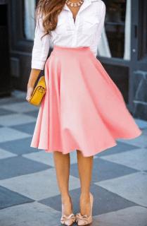 Pink-Skirt