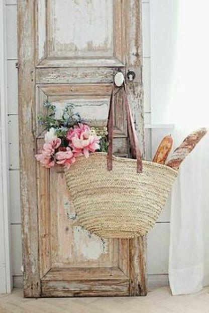Door With Market Bag