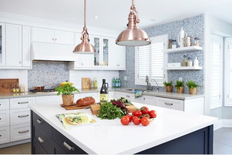 Clean Kitchen with Veggies