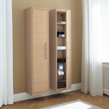 Wall Mount Tall Storage Units