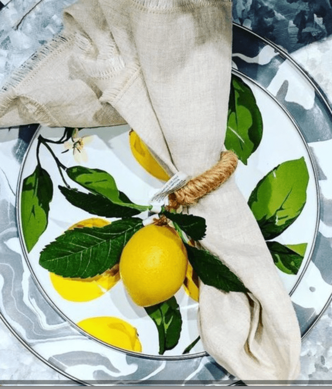 Lemon Table Settings