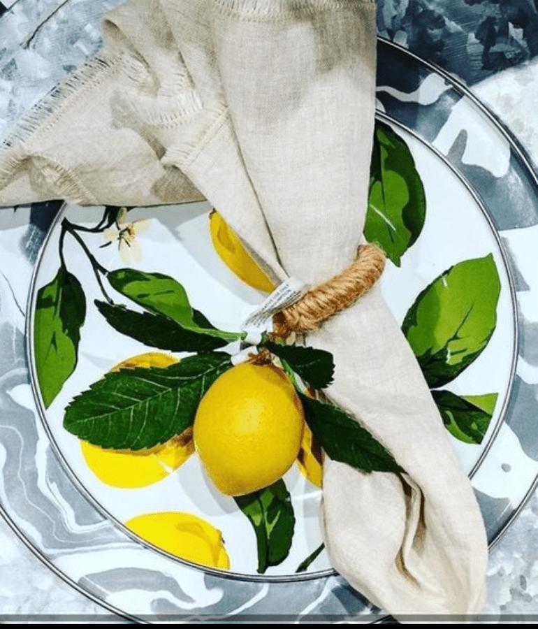 Lemon Table Settings