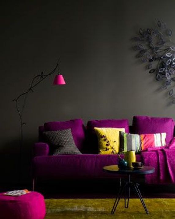 Fuchsia Sofa