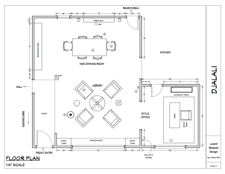 Floor Plans by a Virtual Designer