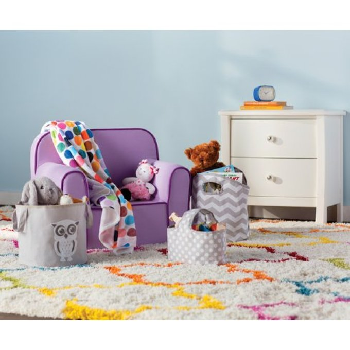 Wayfair Sasha Rainbow Kids Area Rug