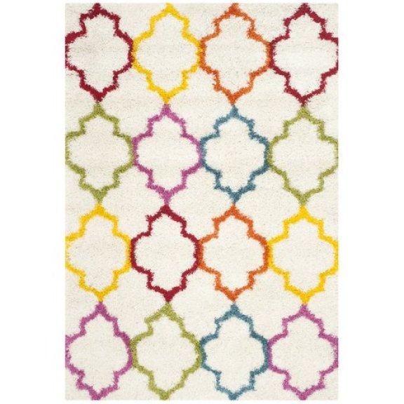 Wayfair Sasha Rainbow Kids Area Rug