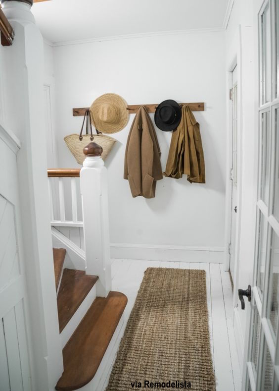 Entry Way With Peg Hooks