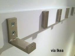 Ikea Hooks on A Board