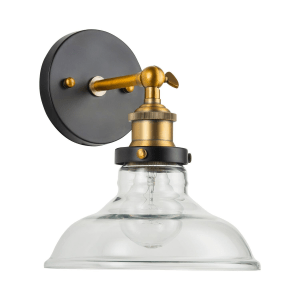 Mixed Metal and Glass Wall Sconces Are Perfect For Make Up Areas