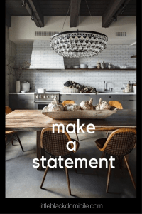 Statement Lighting - See More On Our Pinterest Page littleblackdomicile