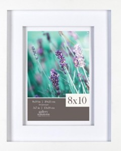 Target White Matted Frames