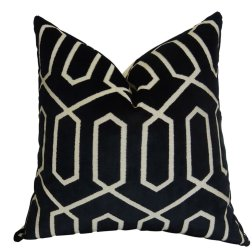 This Bengal Lattice Euro Pillow will look great on almost any sofa, most beds!