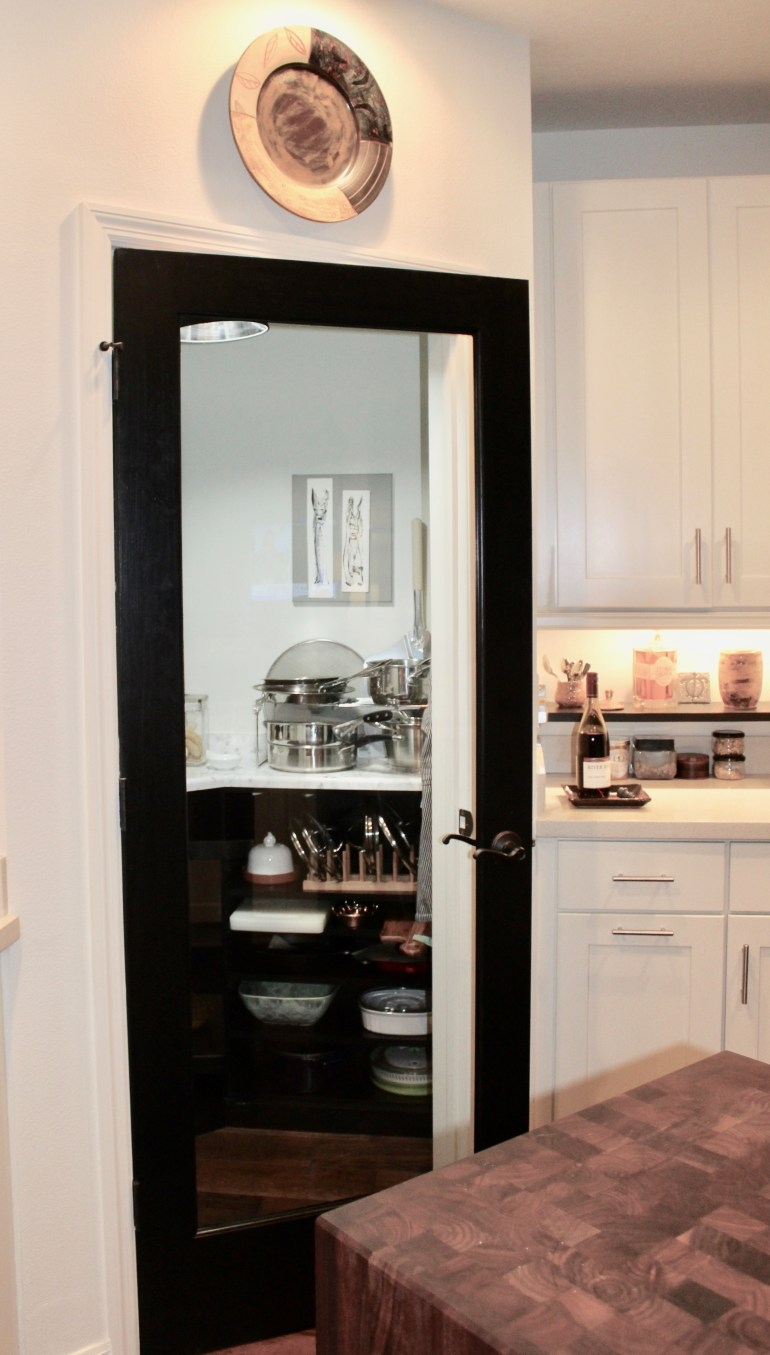 littleblackdomicile walk in pantry