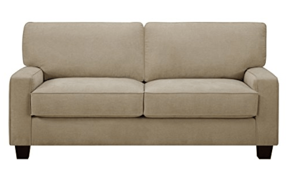 "Sand Essex Serta 78"" Sofa http://amzn.to/2hXvIh2"