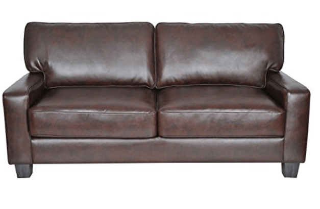 "Chestnut Essex Serta 78"" Sofa - http://amzn.to/2hXmxNU"