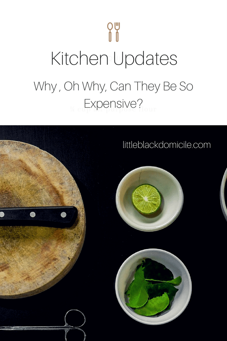 A Fantastic Budget Friendly Kitchen Update littleblackdomicile