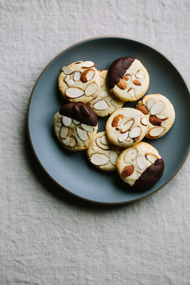 Gather and Dine chewy-almond-cookies and littleblackdomicile