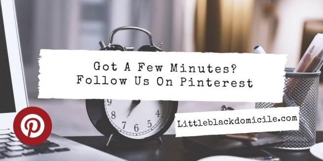 Pinterest and littleblackdomicile.com