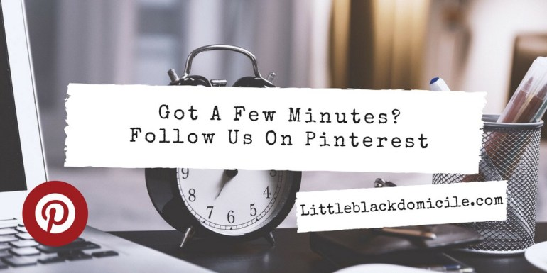 Pinterest and littleblackdomicile.com