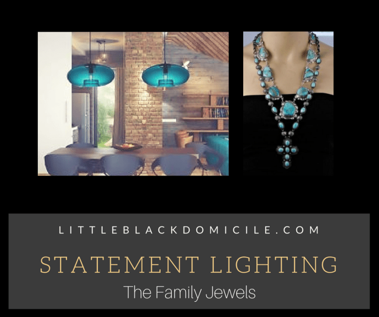 littleblackdomicile statement lighting the family jewels
