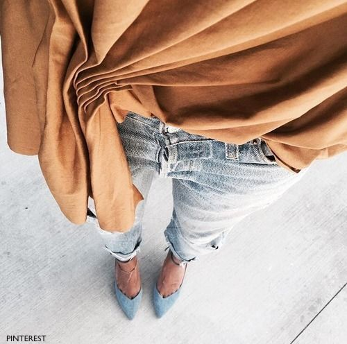 pinterest suede copper poncho