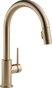 Trinsic+Kitchen+15+Single+Handle+Pull+Down+Standard+Kitchen+Faucet
