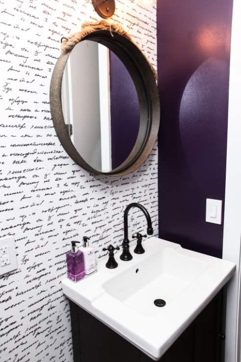 Pinterest Eggplant Bathroom