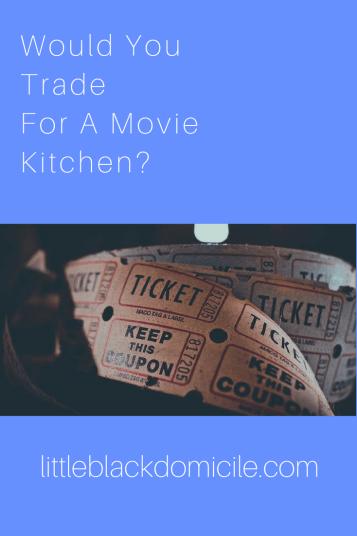littleblackdomicile and movie kitchens