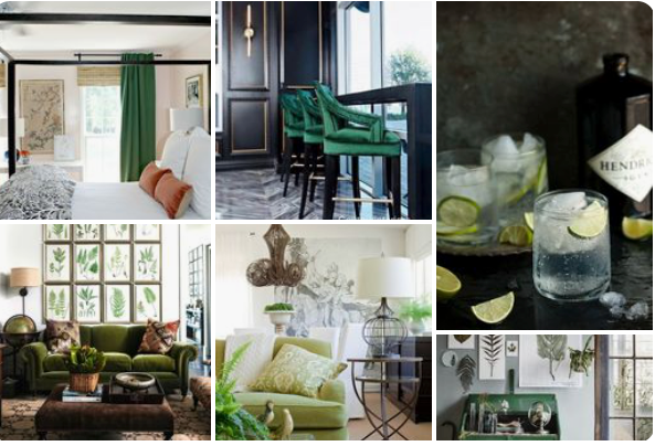 littleblackdomicile pinterest green with envy board