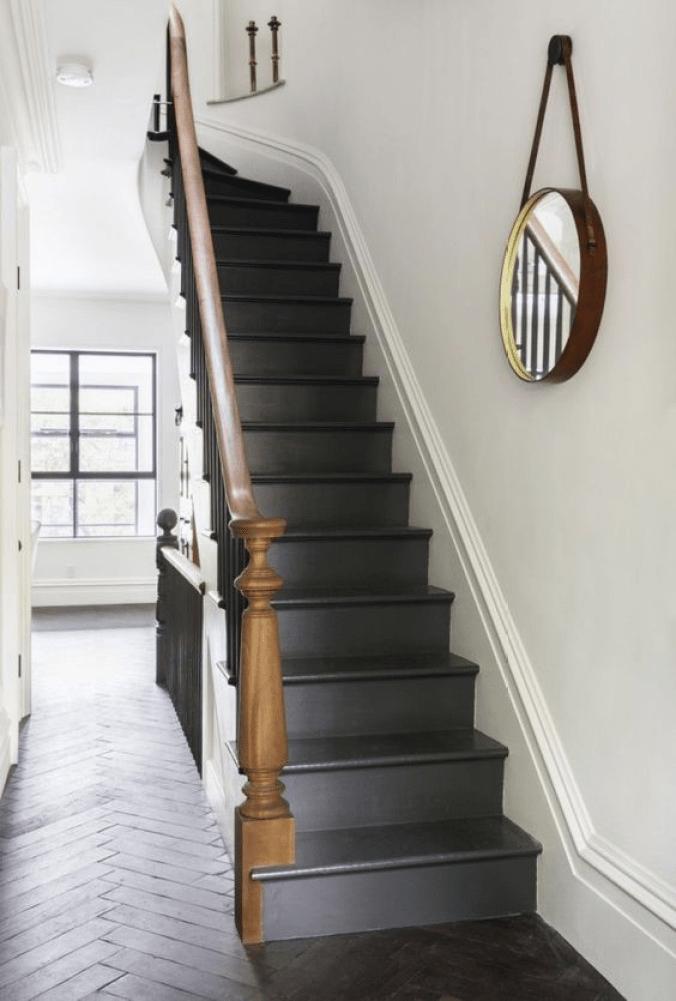 Pinterest Black Staircase