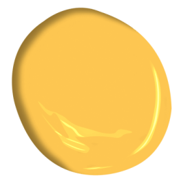 Benjamin Moore 314 Imperial Yellow