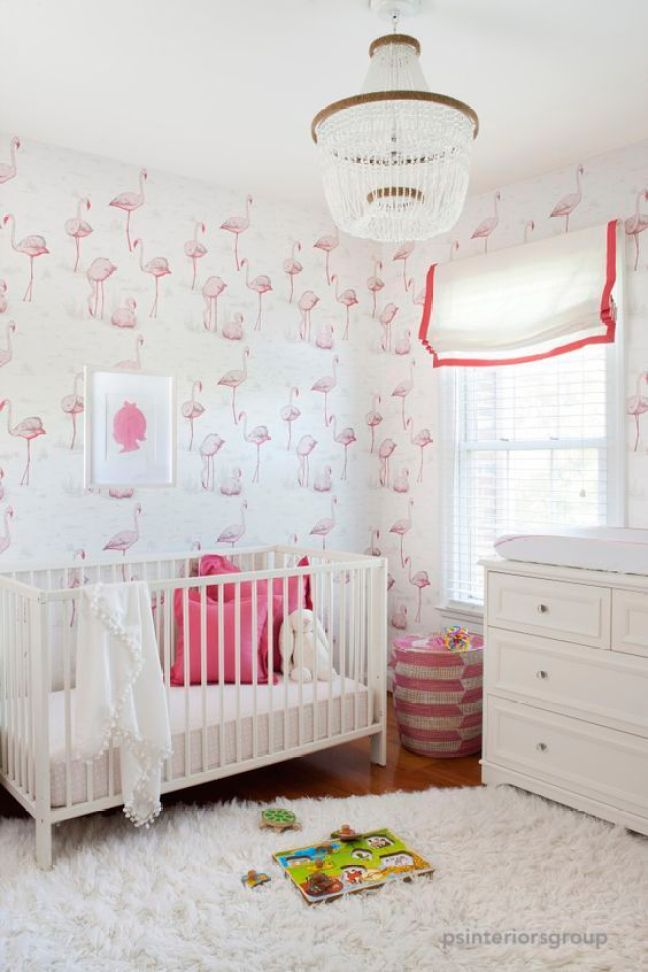 psinteriorsgroup pretty in pink nursery