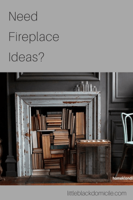 littleblackdomicile fireplace ideas pinterest