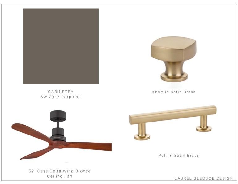 laurelbledsoedesign design selection board for Baringer Kitchen