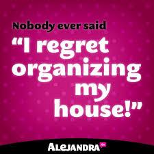 quote about organize-alejandra
