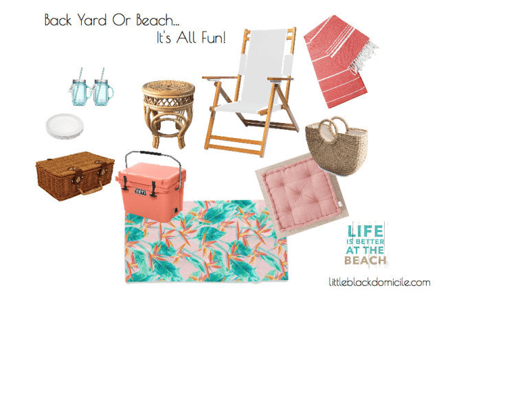 littleblackdomicile Back Yard Or Beach Virtual Interior Design