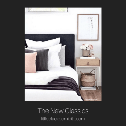 Littleblackdomicile.com - Instagram- the new classics-apartmenttherapy
