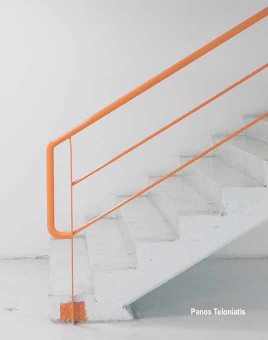 Panos -Teloniatis- orange-stair-rail-concrete-steps