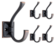 bronze double hooks