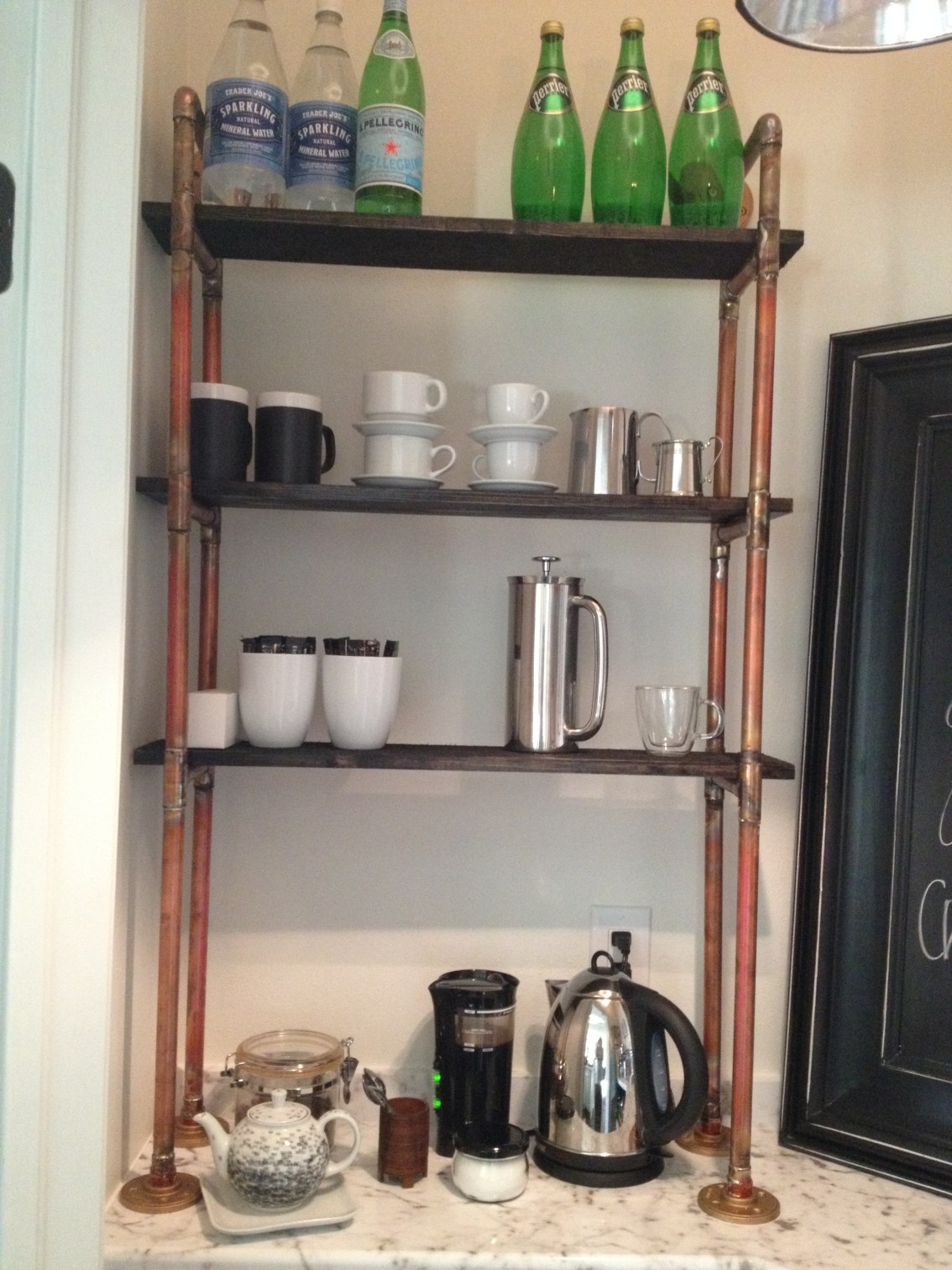 No More Wire Shelves! How To Change Up A Standard Pantry – Before & After 9.12.18