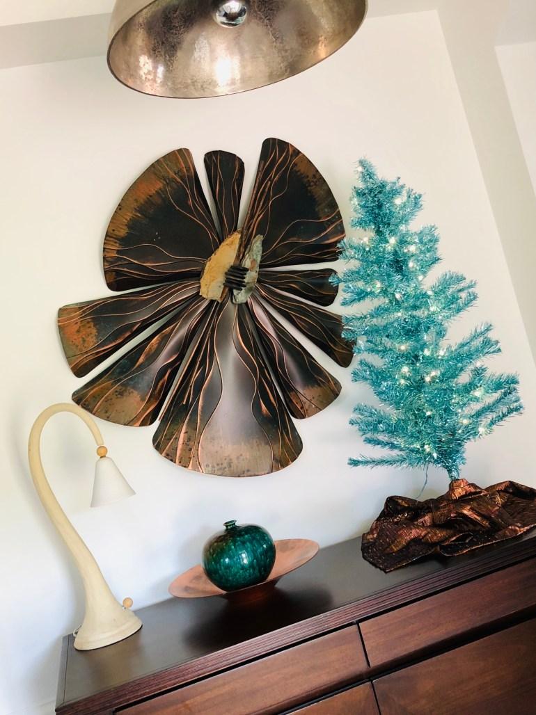 laurelbledsoedesign-minimalistic-holiday decor-tinsel-blue-christmas-tree