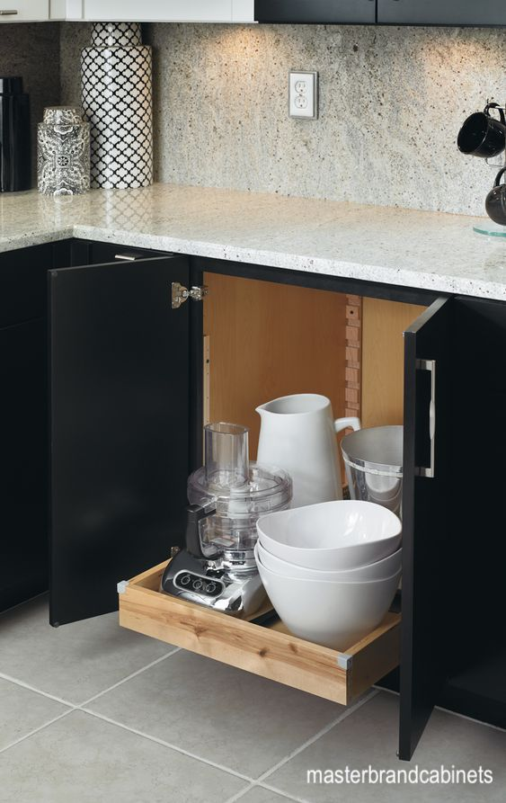 masterbrandcabinets-slide out-bakers-drawer