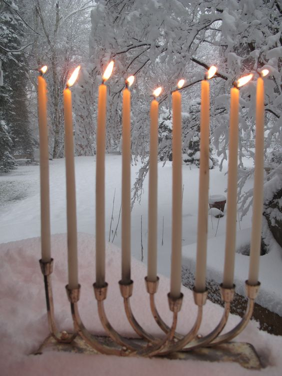 traditional-silver-Our Favorite Menorahs for Hanukkah